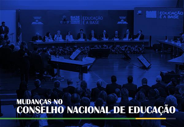 Mudanças no Conselho Nacional de Educação