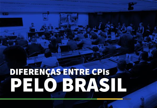 Diferenças entre CPIs pelo Brasil