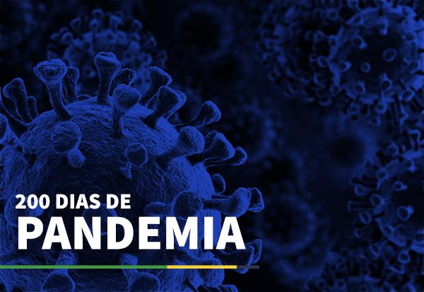 200 dias de pandemia