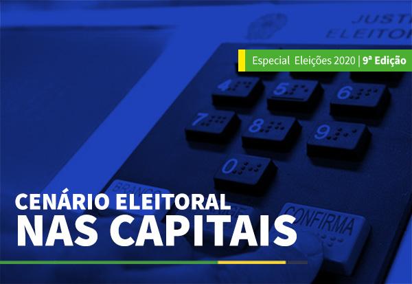 Cenário eleitoral nas capitais