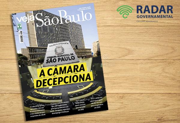 Radar Governamental é destaque na Veja SP