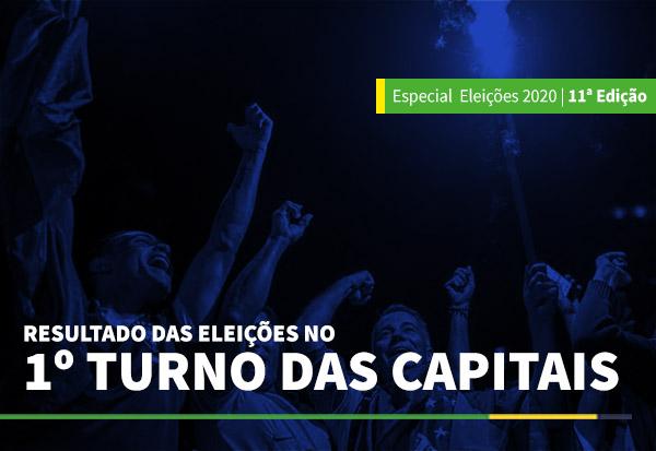 RESULTADO DAS ELEIÇÕES NO 1 TURNO DAS CAPITAIS - BLOG