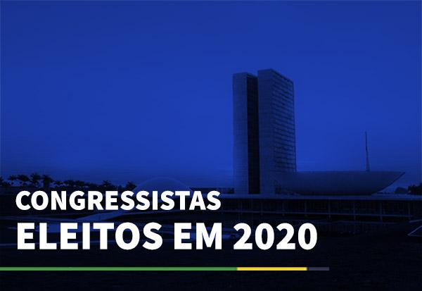 Congressistas eleitos em 2020