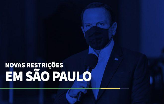 Novas restrições em São Paulo