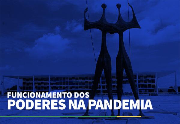 FUNCIONAMENTO DOS PODERES NA PANDEMIA