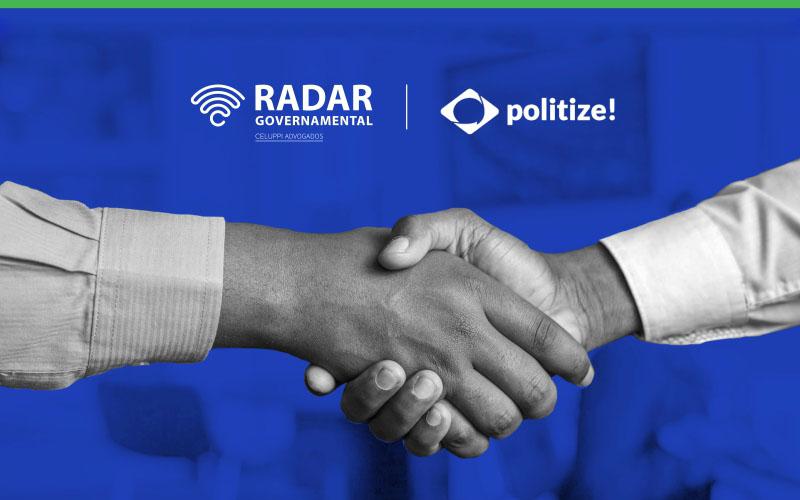 Parceria Radar Governamental e Politize