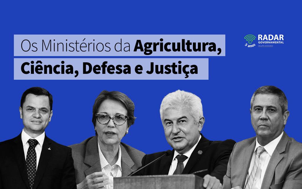 s Ministérios Setoriais
