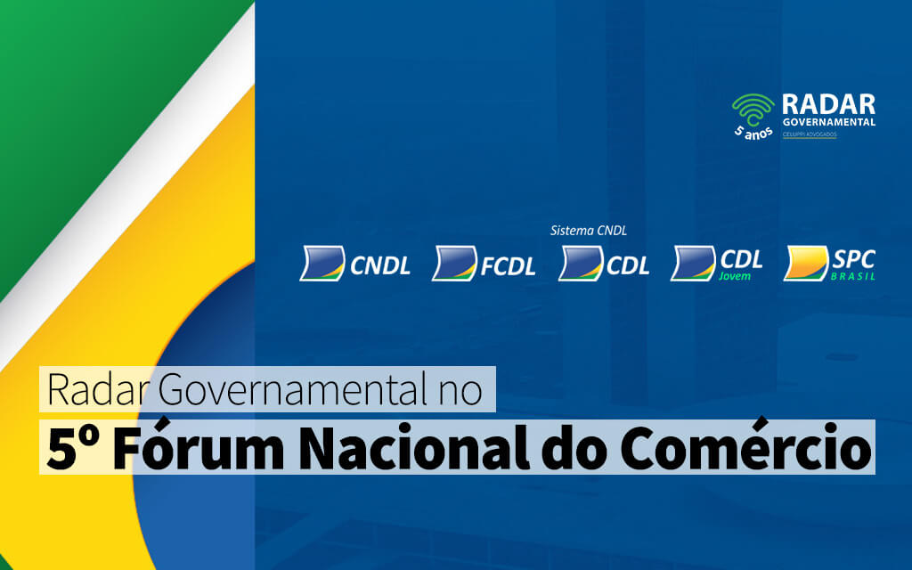 RG no 5º Fórum Nacional do Comércio